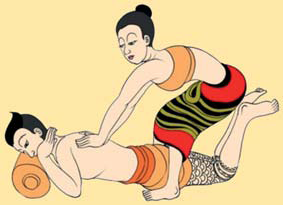 Rücken & Fuß